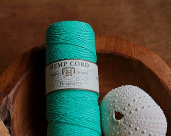Hemp Cord Light Teal
