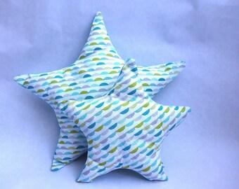 All cushions stars - eco-friendly and organic fabrics-