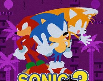 Sonic The Hedgehog 3 - Sega MegaDrive/Genesis print (#006)