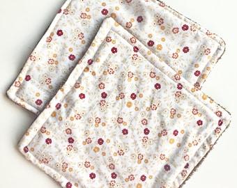 Organic washable paper-cotton towel set