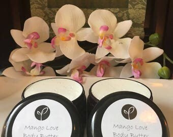 Mango Love Whipped Mango Butter Moisturizing Scented Imported Oil Body Butter