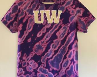 Tie Dye University of Washington UW Tshirt