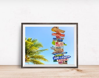 Tropical Print, Tropical Wall Art, Tropical Decor, Tropical Printable, Tropical Art, Printable Wall Art - Instant Download