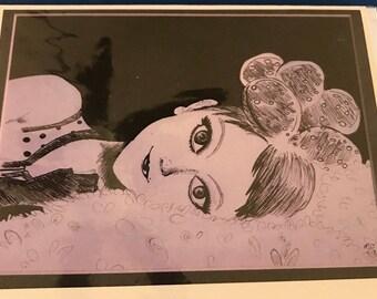 Mia Original Artwork Card