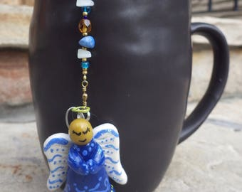 Christmas Angel Tea Infuser with Glowing Dish