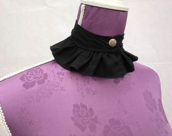 Ruffled Stand up Collar 1
