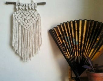 "Macrame wall hanging ""Three Little Words"""