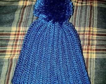 Ribbed crochet beanie #3