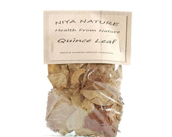 10 gr. Free / 30 gr. Quince Leaf, Organic Quince Leaf, Dried, Non-GMO Herbs, Aromatic Loose Tea Herb, Tea, Organic, Herb, Quince, Leaf,Herbs