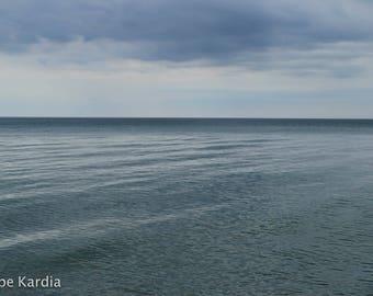Lake Michigan Smooth Waves