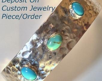 Deposit On Custom Piece of Jewelry by James Heldt