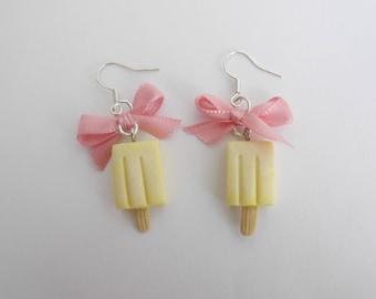Ice cream popsicle earrings