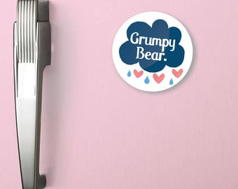Grumpy Bear Magnet