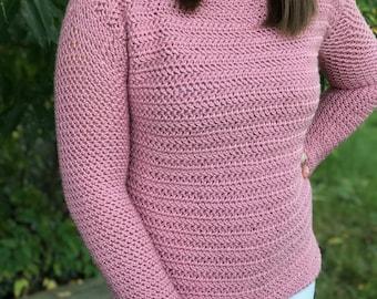 Daydreamer's Pullover//Crochet Pattern