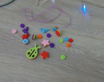 Child foam beads necklace Kit