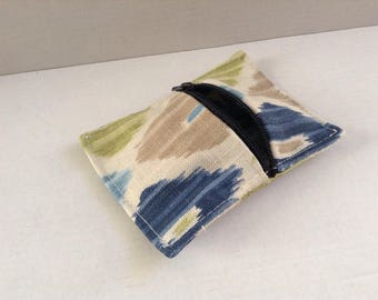 Fabric coin purse