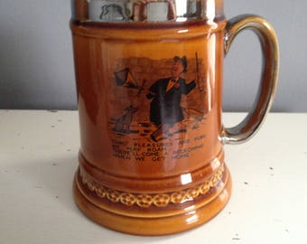 LORD NELSON POTTERY Large Cartoon Mug