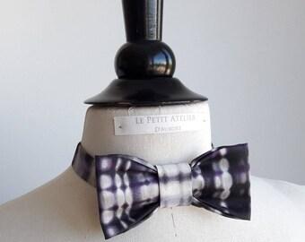 Bow tie tied, adjustable, for men