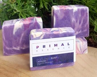 Lavender Soap | Castor Oil Soap | Argan Oil Soap | Shea Butter Soap | Purple Soap | Pink Soap | Natural Soap | Vegan Soap | Artisan Soap