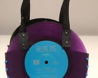 "7"" Purple Rockin' Record Bag"