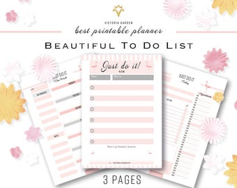 printable TO-DO list, printable planner inserts a5, a4, To Do List, Checklist, to do list pdf, download, To-do list, Planner pages a5 a4 log