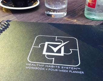 Healthy Habits System Workbook + Four-Week Planner Download