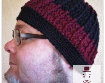 Mr CAP in the rib / Beanie / rib / KU 57-61 cm