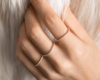 Diamond Eternity Ring/ Diamond Eternity Wedding Band/ 14k Gold Diamond Wedding Band/ Available in 14k Gold, White Gold or Rose Gold