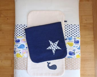 "Changing mat cover and its 2 removable diapers ""Collection only"" available now"