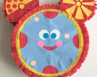 Toodles Pinata, Mickey Birthday, Mickey Mouse Club BIrthday, Twodles Pinata, Disney Pinata, Clubhouse Birthday