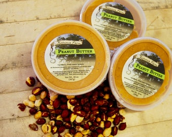All Natural Nut Butters - Pecan and Peanut