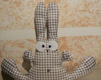 Bunny Fred. Soft toy rabbit