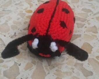 Ladybug amigurumi crochet