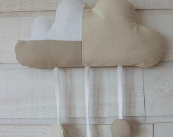 Hanging cloud pillow