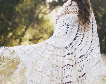 Daydreamer Crochet Throw | Blanket | Rug