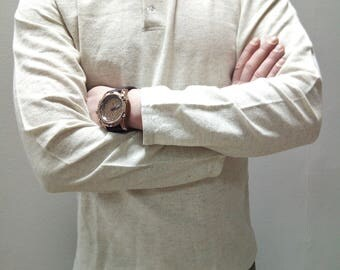 hemp t-shirt/ natural hemp and organic cotton/hemp cloth/hemp/ Organic/hemp tshirt/mens/hemp shirt/hemp/short sleeve shirt/hemp clothing