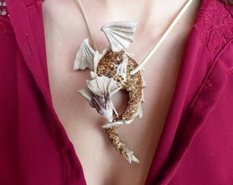 Protective strap necklace