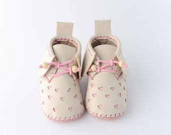 Handmade Leather BabyShoes