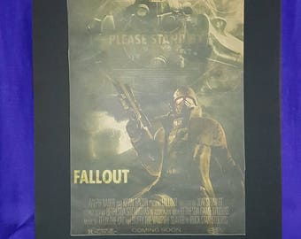 Fallout Mounted Poster