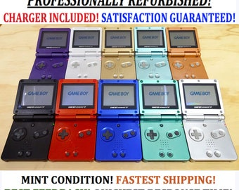 Nintendo Game Boy Advance GBA SP System AGS 001 Mint New (Pick Console & Button Color!)