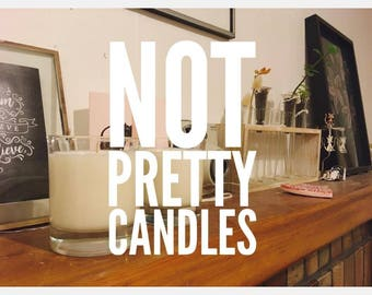 Peony, pepper, pamplemousse hand poured soy candles - order now!