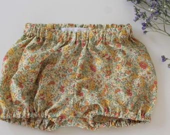 Claire Aude Liberty baby bloomers