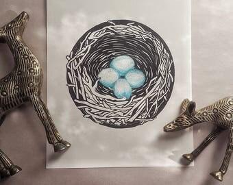 Nest Eggs Blue