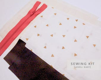 Sewing Kit for Fabric Pouch