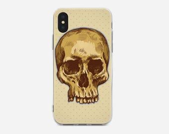 Skull iPhone Case,iPhone X Case,iPhone 6S,iPhone 7,iPhone 7 Plus,iPhone 5C,iPhone SE,iPhone 5S & Touch 6,Samsung S8,S8 Plus,S7,Galaxy A3,A5