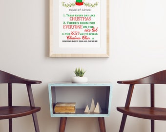 Buddy the Elf, Best Way to Spread Christmas Cheer, Elf Movie, Christmas Elf, Christmas Printable, Christmas decor, Will Ferrell
