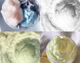 Choose your Sample! Pick any one of our Whipped Soaps to try! Handmade By SterlingSoapCo
