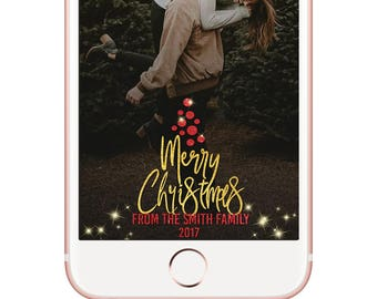 Merry Christmas Tree Shaped Greeting Filter Glitter Snapchat Filter Geofilter Geofilter Filter Party Snap Chat Gold Glitter