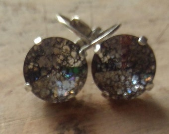 Silver Patina Earrings