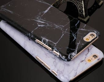 Granite Marble Texture Pattern Phone Cases for iPhones